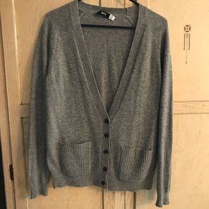 Urban outfitters gray pocket cardigan Bdg